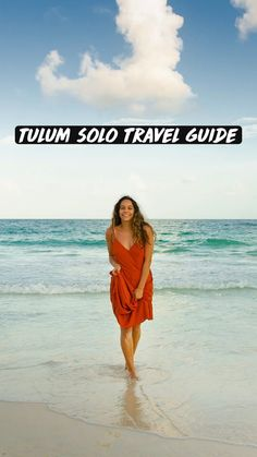 Places To Travel, Places To Go, Travel Pose, Mexico Destinations, Tulum Mexico, Mexico Travel, Cancun, Solo Travel, Travel Guides