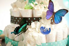Fun Baby Shower Gift: How to Make a Diaper Cake