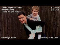 Secure High Back Carry: Beginner's Back Carry