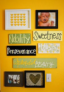 Nursery decor. #DIY