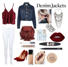 """""""Denim's"""" by tiarakukreja-style on Polyvore featuring River Island, Miss Selfridge, See by Chloé, Marc Jacobs, Maybelline, NARS Cosmetics, Lime Crime, Rupert Sanderson and Rimmel"""