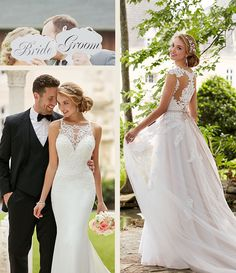 #SoStella. Romantic. Fun. Glamorous. All with a wink of sexy...this is the world of Stella York designer wedding dresses.