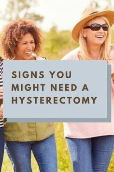 What are the signs you may need a hysterectomy? I know about a few potential problems because I had a hysterectomy in December..... Hysterectomy For Endometriosis, Signs Of Endometriosis, Life After Hysterectomy, Partial Hysterectomy, Uterine Polyps, Fibroid Uterus, Prolapsed Uterus, Post Menopause, Female Reproductive System