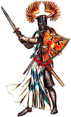 История моды: Прежде всего был реконструирован костюм рыцаря, который состоял из…