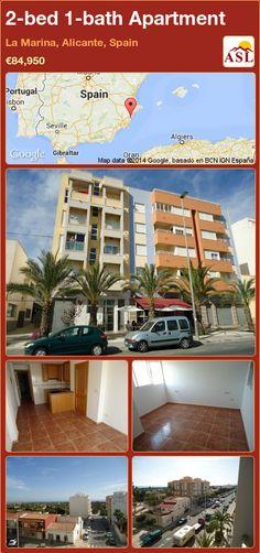 2-bed 1-bath Apartment in La Marina, Alicante, Spain ►€84,950 #PropertyForSaleInSpain