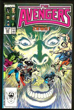 The Avengers #282 Newsstand Edition ~ NEAR MINT NM ~ 1987 MARVEL COMICS
