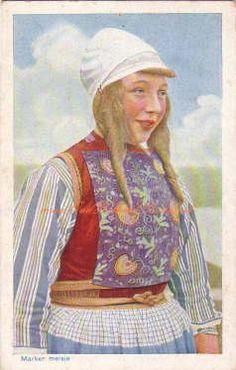 ♥Marker meisje 1913