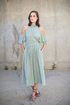 Mara Hoffman - Sage Open Shoulder Top | BONA DRAG