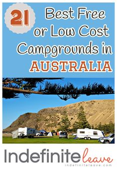 21 Best Free or Low Cost Campgrounds in Australia- There are plenty of ways to save money on accommodation while travelling Australia by Free Camping or staying in Low Cost Campgrounds. Check out our 21 Best Free or Low Cost Campgrounds in Australia. Brisbane, Melbourne, Camping Spots, Camping Hacks, Solo Camping, Camping Packing, Camping Essentials, Family Camping, Great Barrier Reef