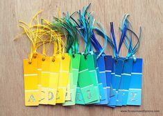DIY Bookmark Favors | Budget Birthday Favors via Pretty My Party