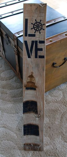 Hey, I found this really awesome Etsy listing at https://www.etsy.com/listing/265476691/love-lighthouse-sign-ships-captains
