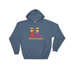 """Kimchi Rules"" Hooded Sweatshirt by Mahieu"