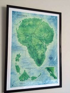 This detailed map of Isla Nublar.