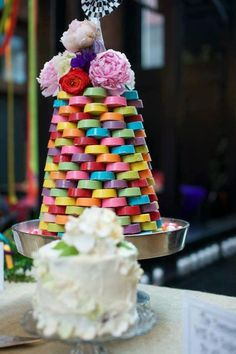 "Chocolate Covered Oreos Wedding ""Cake"" Tower"