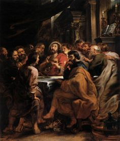 Rubens, Ultima Cena, 1631-32, Pinacoteca di Brera, Milano