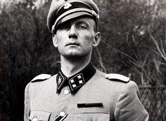 The commanding officer of Freikorps Danmark, SS-Sturmbannführer Christian Frederich von Schalburg