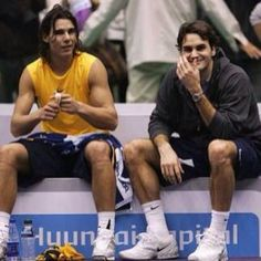 """""""If somebody says I am better than Roger, I think this person doesn't know anything about tennis."""" - RAFAEL NADAL"""