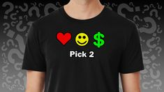#Love #Happiness #Money - Pick 2 Animal Silhouette, Comic Styles, Classic T Shirts, Surfing, Happiness, Money, Stickers, Fabric, Mens Tops