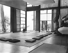 Another interior shot of the Eames House