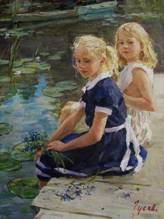 Por Amor al Arte: Hermosas pinturas de Vladimir Gusev