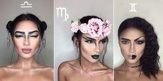 Une make-up artist crée des looks incroyables pour chaque signe astrologique