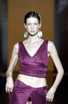 Catwalk Queen --- Caitriona Balfe — Salvatore Ferragamo Spring/Summer 2003