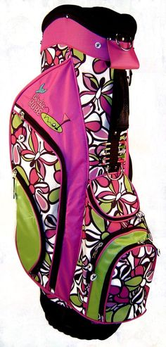 Bir Women Golf Bag Bahama Mama Pink Flowered Las Hybrid More Info Could Be Found At The Image Url