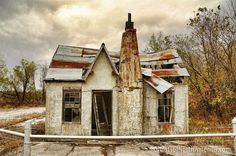 Picher, Oklahoma Abandoned, toxic town.