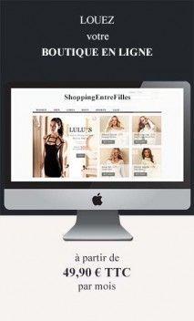 Location de boutique en ligne