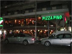 Restaurant Pizza Pino in Port Said, Egypt, Africa.
