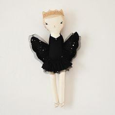 Image of New Nina swan Black