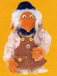 This was my womble but for some reason my womble was older, had glasses and a different apron ( but same colour )  ???