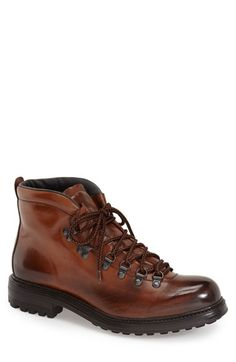 Free shipping and returns on To Boot New York 'Bryan Alpine' Boot (Men) at Nordstrom.com. An Italian-made alpine boot is shaped from rich burnished leather and set on a rugged sole for a look that's as handsome as it practical.