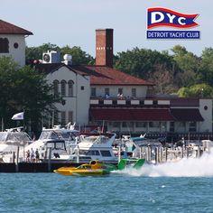 Detroit Yahct Club Belle Isle Detroit Michigan