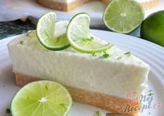 Keksíkový dort s vanilkovou příchutí Sweet Recipes, Cake Recipes, Lime Cheesecake, Cake Factory, Sweet And Salty, Desert Recipes, Popular Recipes, Cheesecakes, Vanilla Cake