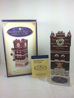 Anheuser-Busch-Brew-House-Clock-Tower-Stein-2005-Collector-Club-Christmas-Gift