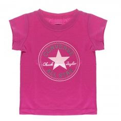 6b5f0b7abb70 Converse All Star Logo T-Shirt Infant - Eglantine Pink