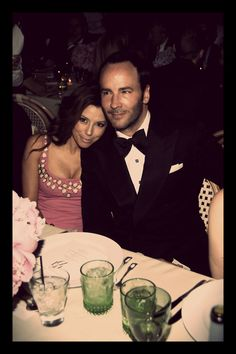 Eva Longoria and Tom Ford