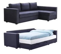 MANSTAD Sectional Sofa Bed & Storage from IKEA. This is DEFINITELY going in my house!
