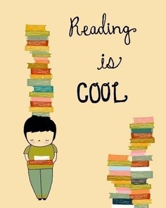 Reading is cool. I love reading! The Words, I Love Books, Books To Read, I Love Reading, Reading Books, Word Reading, Reading Quotes Kids, Reading Posters, Children Reading