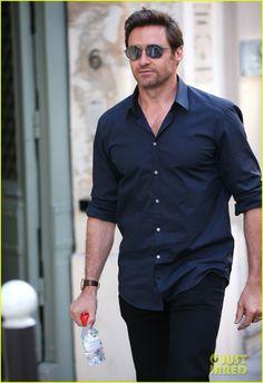 Hugh Jackman Was Too Buff to Go Shirtless in 'Prisoners'   Hugh Jackman Photos   Just Jared