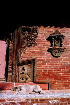Temple In Nepal - Taking A Snooze Visit Nepal! Find travel agencies on NepalB2B.com