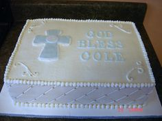 Simple+First+Communion+Cakes | First communion cake — First Communion