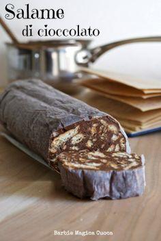 Classico e intramontabile, per grandi e bambini: il salame di cioccolato!