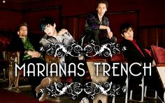 "Marianas Trench out of Canada, lead by Josh Ramsay. Of note are the instantly catchy ""Desperate Measures"" and ""Haven't Had Enough"" from their Ever After album. Music Is My Escape, Music Is Life, Marianna Trench, Marianas Trench Band, Josh Ramsay, Canadian Boys, Band Pictures, Sing To Me, Pop Songs"
