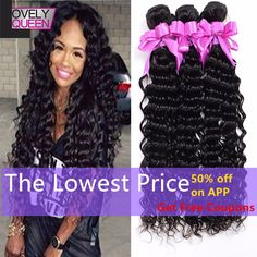 Peruvian Virgin Hair Deep Curly 3Bundles 100%Unprocessed http://mobwizard.com/product/7a-peruvian-virgin/
