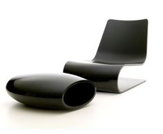 Nouvelle vague chair by Christophe Pillet