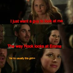 Every time. Once Upon a Time. Past Hook & Emma Swan. Ouat. Episode 3x21 3x22 finale.