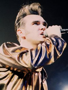 The 50 Most Stylish Musicians of the Last 50 Years  Morrissey - That hair, man. That hair.