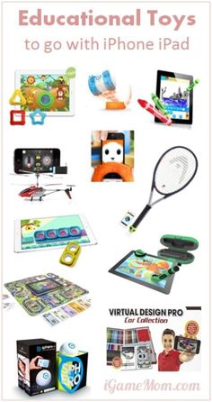 Educational Toys for Children to Go With iPhone iPad